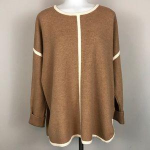J. Crew Wool Tunic Sweater Medium